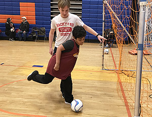 special needs soccer